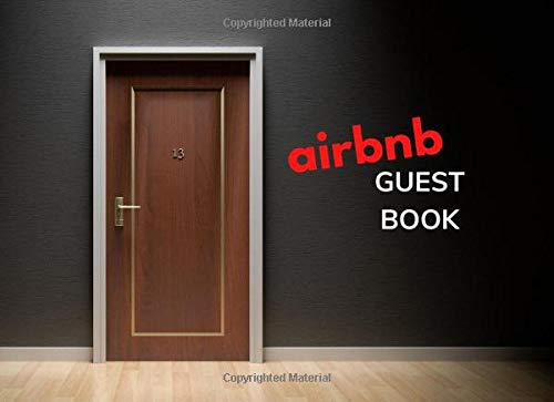 Airbnb Guest Book: Visitor Guest Book, Sign in Log Book for Vacation Rentals airbnb, Bed &...