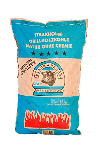 Black Ranch 15 Kilo Grillkohle Steakhousekohle