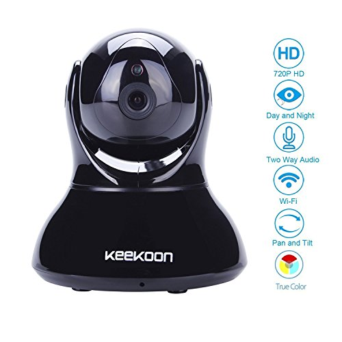 Keekoon Wireless/Wired Tag/Nacht IP Kamera Wlan
